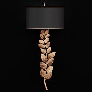 wall lamp currey company 3D