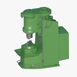 3D pneumatic forging hammer ma4129