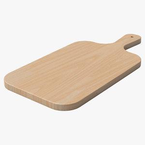 chopping board 3D model