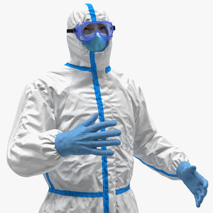 3D man disposable medical protective