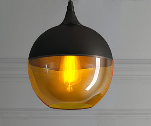 3D hanging lamp loft house model