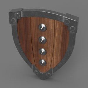 3D shield ready metallic