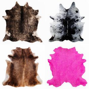 3D carpets rug animal fur model