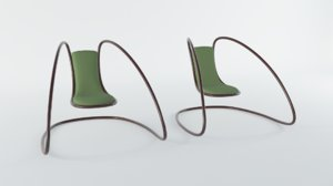 cantilever chair model