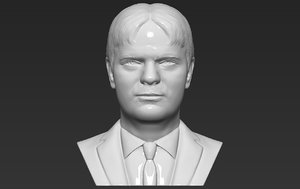 3D model dwight schrute office bust
