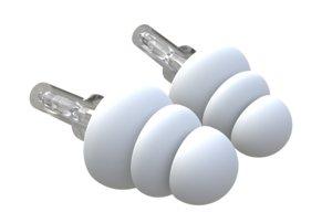 3D soft ear earplugs plugs