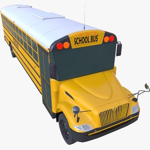 ic school bus model