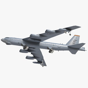 boeing b52 stratofortress strategic 3D model
