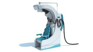 transcranial magnetic stimulator medical equipment 3D model