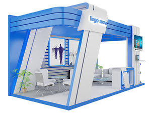 stand exhibition booth 3D