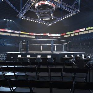 ufc arena 3D