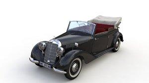 3D mercedes-benz typ 170v cabriolet