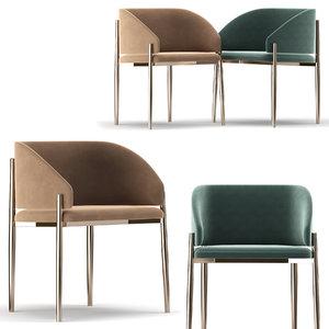 3D porro frank chair