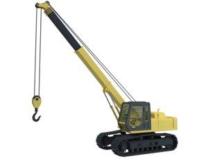 crawler crane model