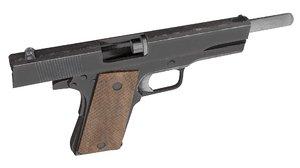 3D model 1911 pistol