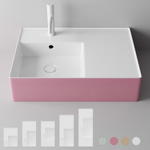 decorlab ceramic washbasin 3D