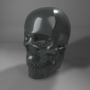 glass skull l768 3D model