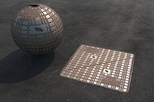 uk manhole covers model