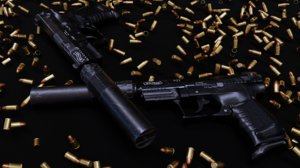 walther p22 3D