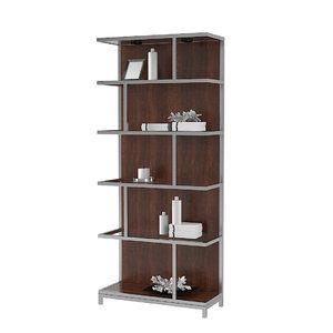 lexington kelly bookcase 3D model
