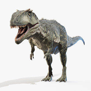giganotosaurus giganoto 3D model