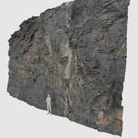 ROCK WALL 3D SCAN 8K