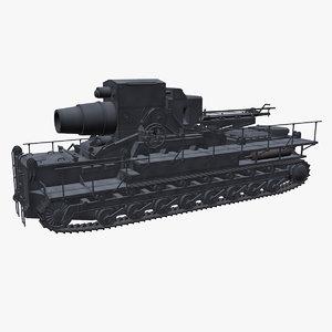 karl tank 3D
