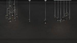 4 vistosi chandeliers 3D model