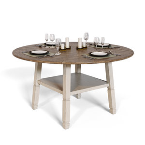 3D bolanburg counter height dining room model