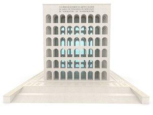 3D palazzo model