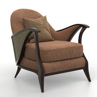 Curtsy caracole chair