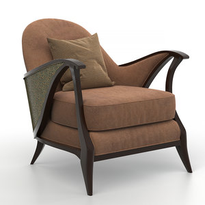 curtsy caracole chair 3D