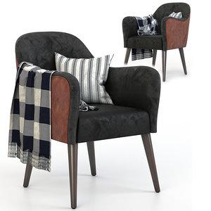 nuss sandalyeci chair 3D