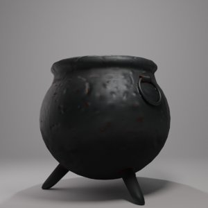 witch s cauldron model