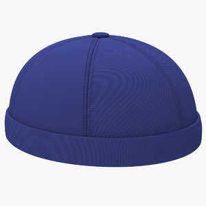 3D model cap visor pin