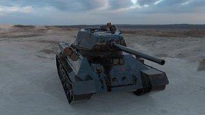 t-34 soviet tank model