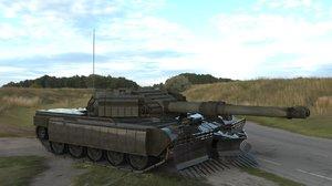 soviet prototype tank 3D