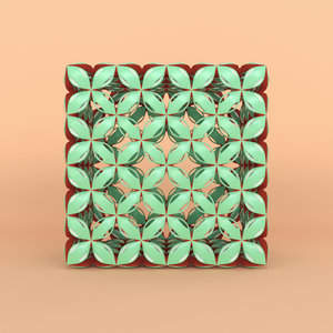 3D pattern cube