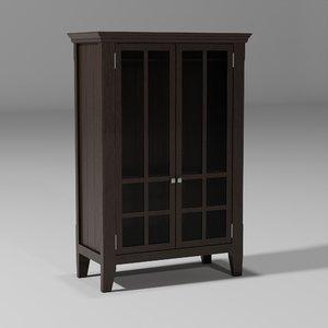 old wardrobe 3D model