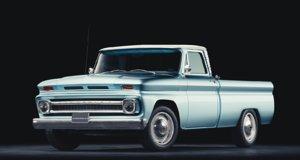 3D model chevrolet c10 pickup 1966