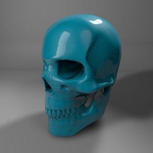 plastic skull l775 model