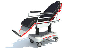 medical stretcher chair model