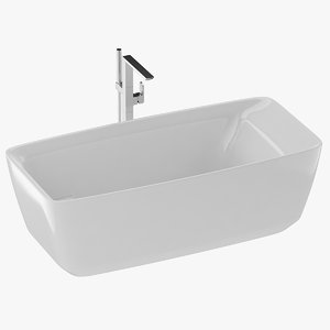 tub freestanding 3D