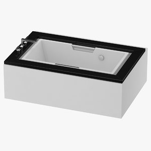 3D toto bath tub