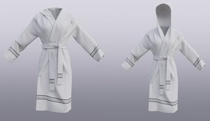 bathrobe hood model