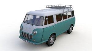 goliath express 1100 minibus 3D model