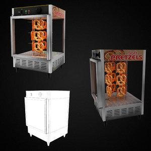3D model pretzel warmer