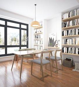 office interior model