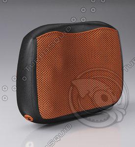 3D pillow massager