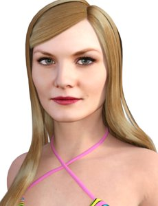 actress jennifer morrison 3D